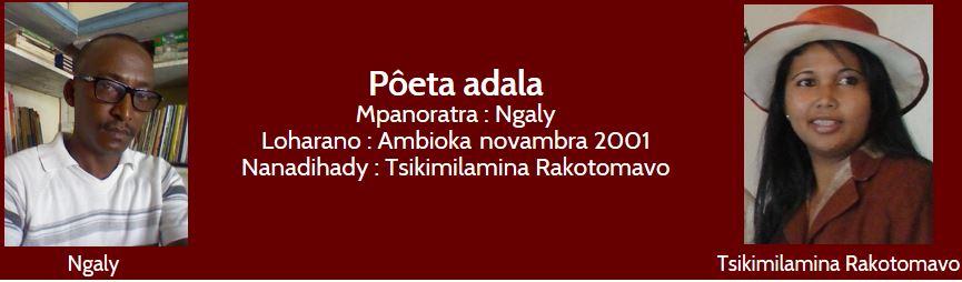 Rô Andriamaneva, sary nomeny an'i Toetra Ràja