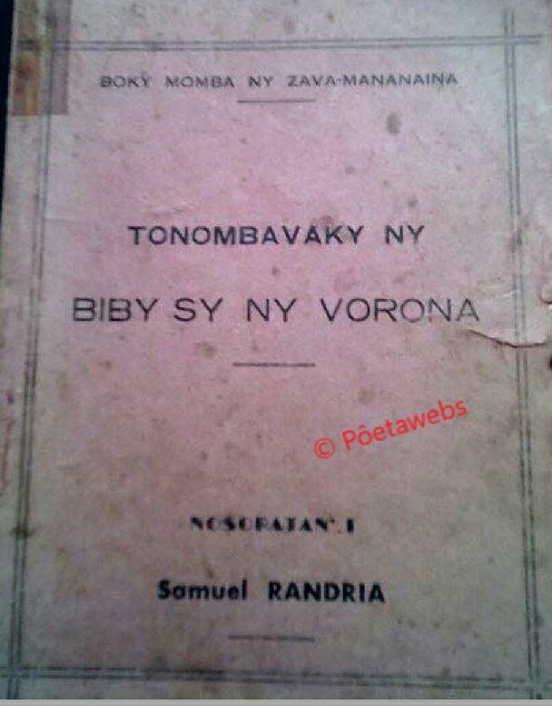 Samuel Randria - Pôetawebs